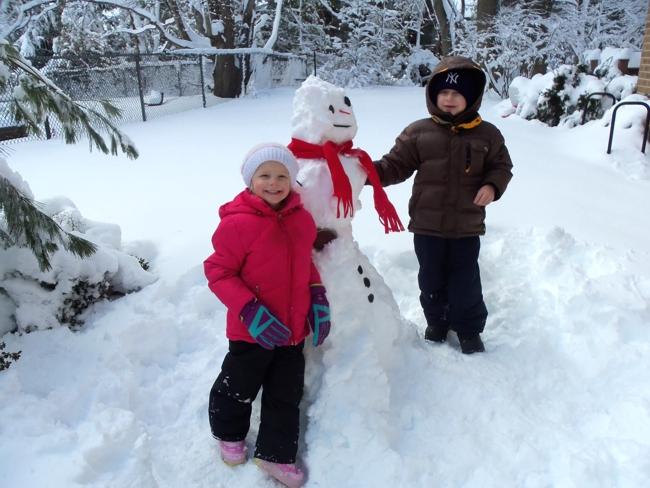 Зимние фото и картинки дети и